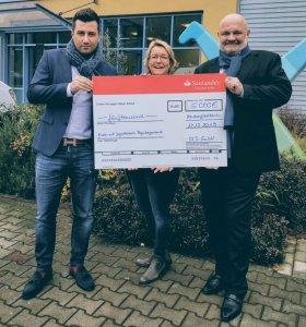 OLS – Unsere Spende an das Kinderhospiz Regenbogenland Düsseldorf